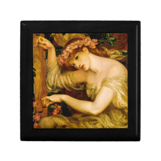 Rossetti's Sea Spell Pre-Raphaelite Tiled Box Jewelry Box