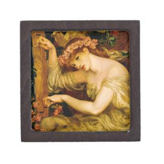 Rossetti's Sea Spell Pre-Raphaelite Tiled Box Premium Gift Boxes
