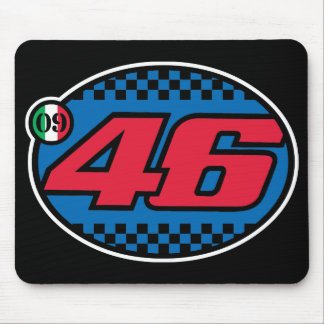 Rossi '09 (crisp red) mouse pad