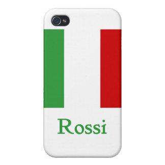 Rossi Italian Flag iPhone 4/4S Cases