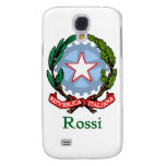 Rossi Italian National Seal Samsung Galaxy S4 Cases