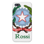 Rossi Italian National Seal iPhone 5 Cover