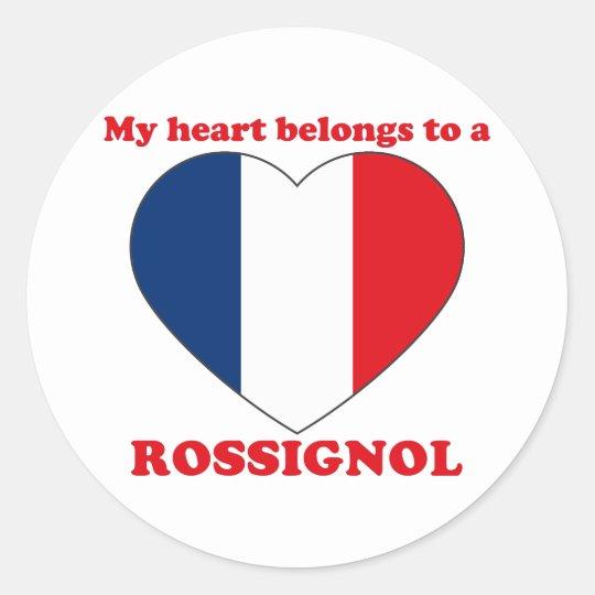 Rossignol Classic Round Sticker