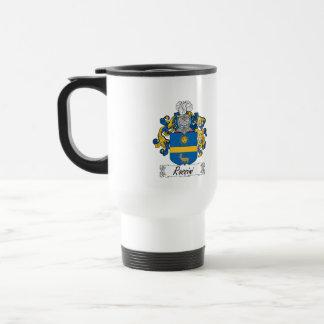 Rossini Family Crest Travel Mug