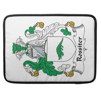 Rossiter Family Crest MacBook Pro Sleeve