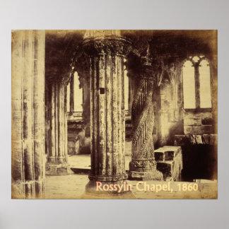 Rosslyn Chapel 1860 Print