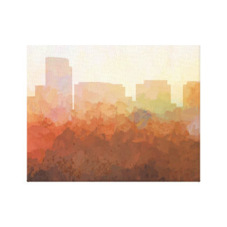 ROSSLYN, VIRGINIA SKYLINE-In the Clouds Canvas