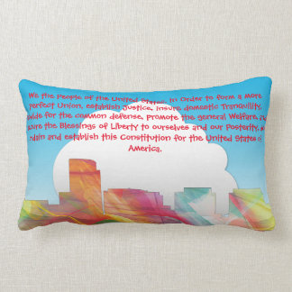 ROSSLYN, VIRGINIA  SKYLINE WB1 - LUMBAR PILLOW