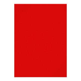 Rosso Corsa Invitación Personalizada