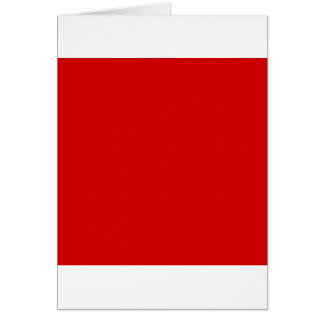 Rosso Corsa Red Card