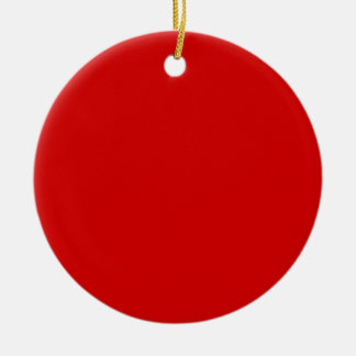 Rosso Corsa Red Christmas Ornaments