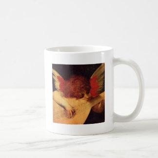 Rosso Fiorentino Musician Angel Coffee Mug