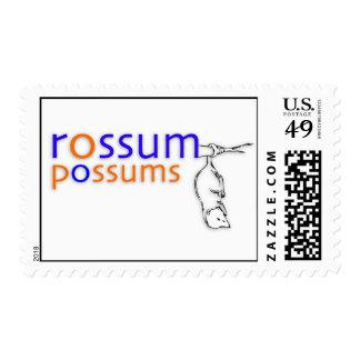 rossumpossums Postage Stamps