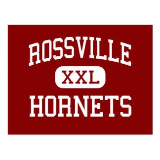 Rossville - avispones - centro - Rossville Indiana Postal