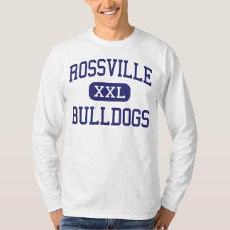 Rossville Bulldogs Middle Rossville Georgia T-Shirt