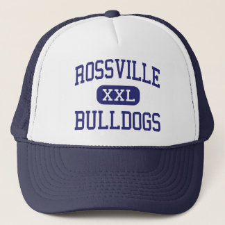 Rossville Bulldogs Middle Rossville Georgia Trucker Hat