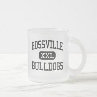 Rossville - dogos - alto - Rossville Kansas Taza Cristal Mate