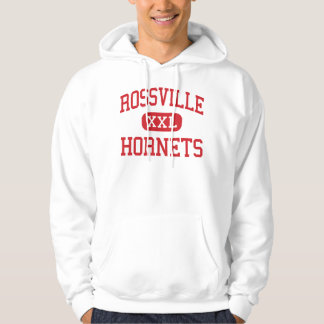 Rossville - Hornets - Middle - Rossville Indiana Hoodie
