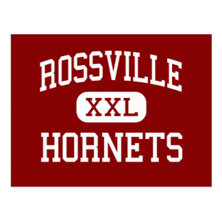 Rossville - Hornets - Middle - Rossville Indiana Postcard