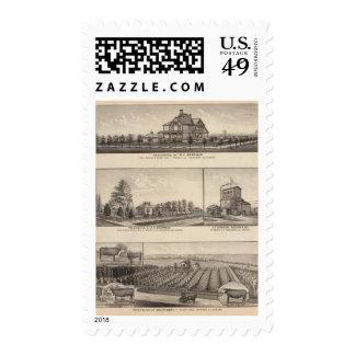 Rossville, Kansas Postage