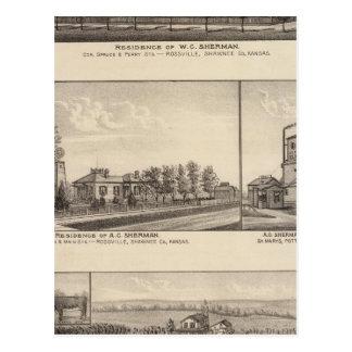 Rossville, Kansas Postcard