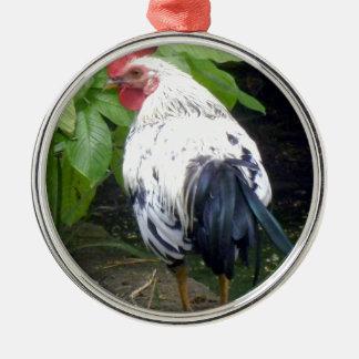 Roster Metal Ornament