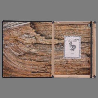 Rostic wood iPad case