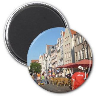 Rostock Alemania Imán De Frigorífico