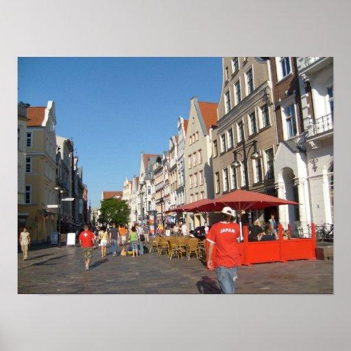 Rostock Alemania Póster