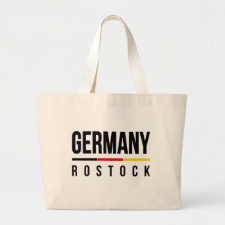 Rostock Germany Large Tote Bag