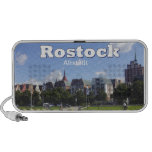 Rostock old part of town notebook speakers