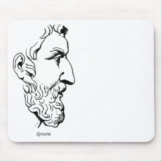 Rostro de Epicurus Alfombrillas De Ratón