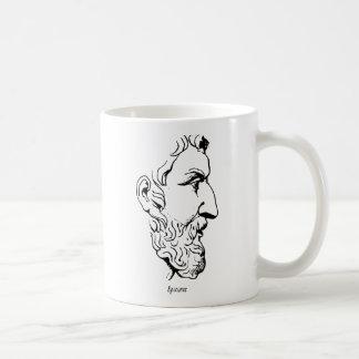 Rostro de Epicurus Taza