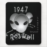 Roswell 1947 mouse pad