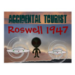 Roswell 1947 postcard