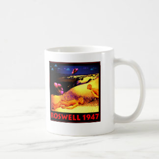 Roswell 1947 UFO Crash Coffee Mug