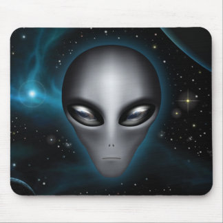 Roswell Alien II (Mousepad) Mouse Pad