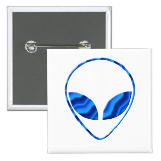 Roswell Alien Square Pin