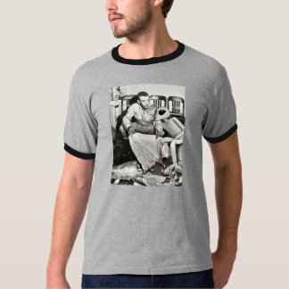 Roswell Alien Visit Tshirts