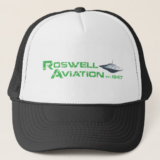 Roswell Aviation Trucker Hat
