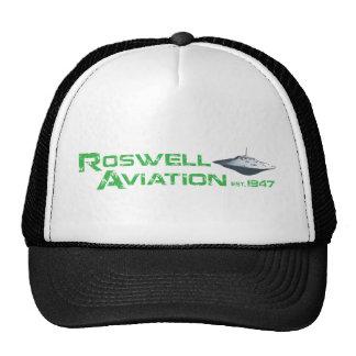 Roswell Aviation Trucker Hat