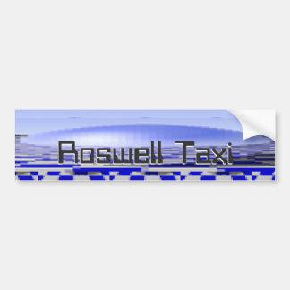 Roswell bromea taxi pegatina para coche