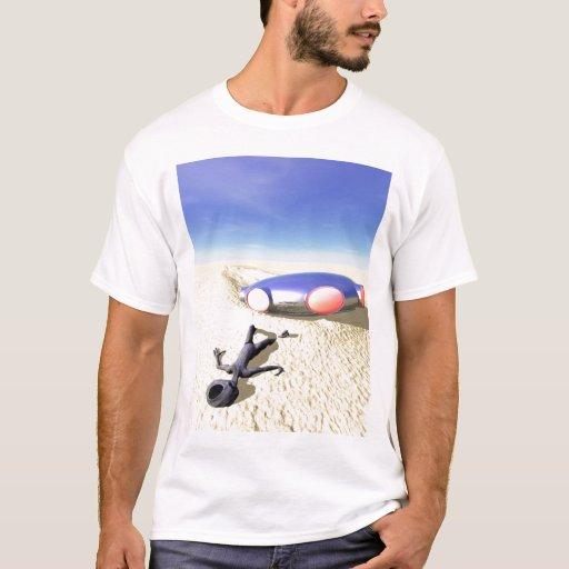 Roswell como la camisa del desplome del UFO