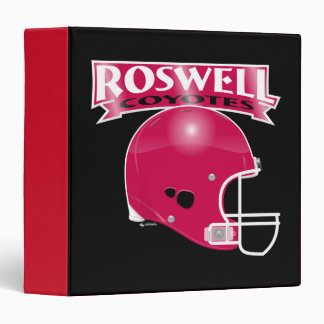 Roswell Coyotes Football Avery Binder