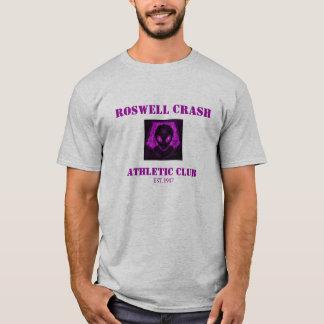 ROSWELL CRASH 2, ATHLETIC CLUB, EST.1947 T-Shirt