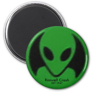 Roswell Crash, EST.1947 2 Inch Round Magnet