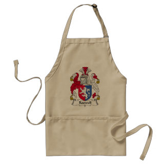 Roswell Family Crest Adult Apron