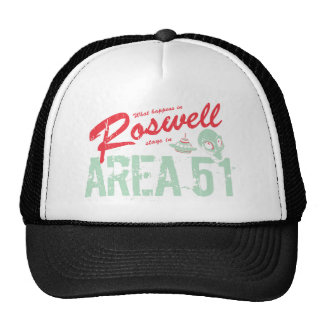 Roswell Mesh Hats