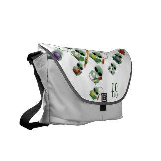 Roswell jokes messenger bag