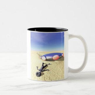 Roswell Like UFO Crash Mug